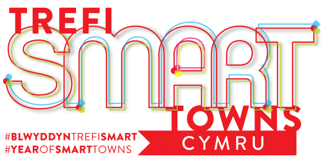 Trefi smart towns logo artwork